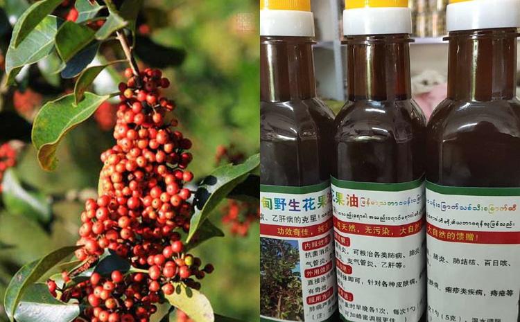 缅甸花果油图片